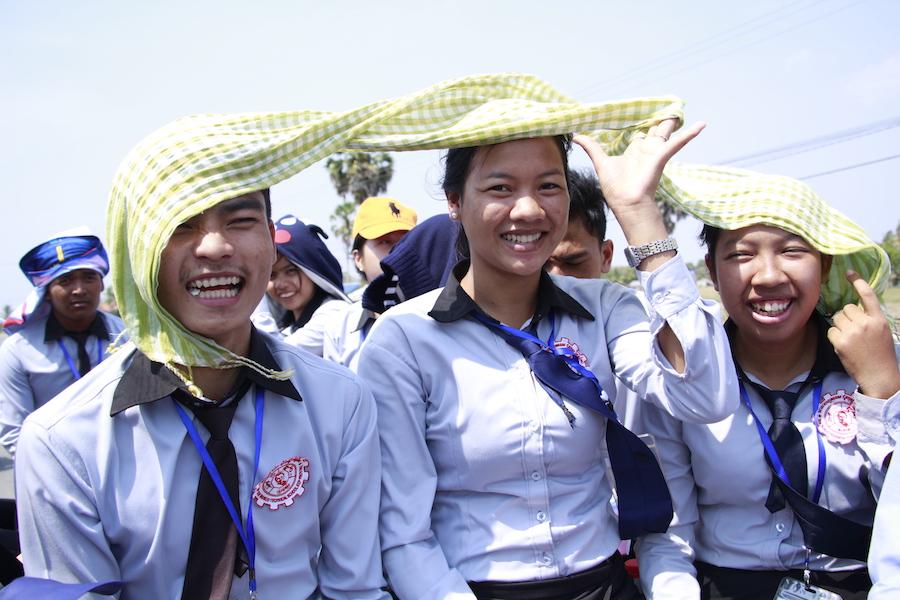 Krama Schal Kambodscha