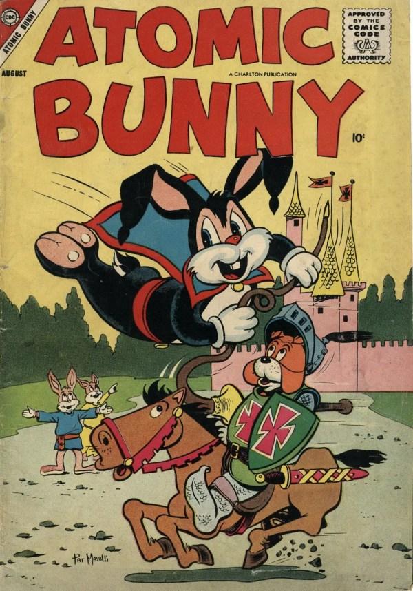 Atomic Bunny Comic Book