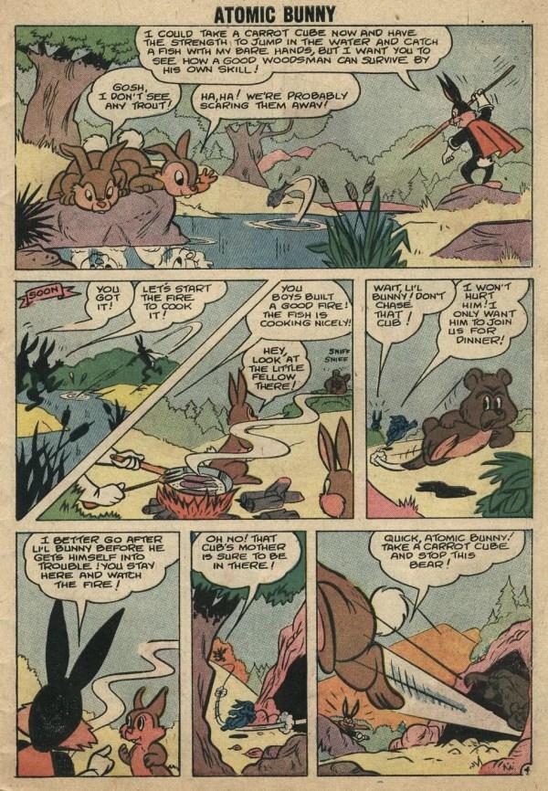 Bunny Funny Comic Strip