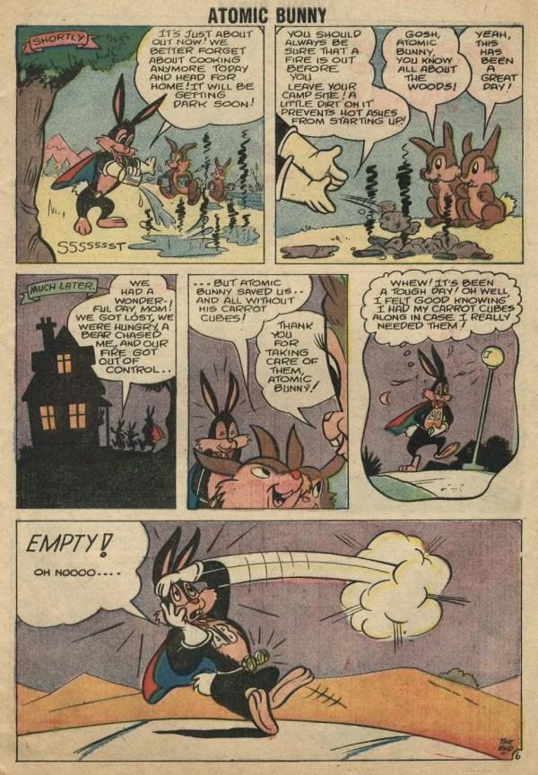 Bunny Comic Strip