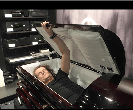 surround sound casket