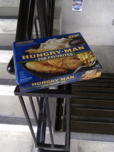 Found around Thanksgiving time--in the stairway of a parking garage at an Indiana college. I assume the owner ditched it and dined with the relatives.