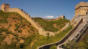 Vast Expanse of The Great Wall, Jinshanling, China