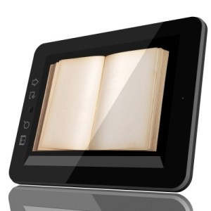 tablet pc & book by adam r