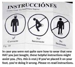 American idiots - hat instructions