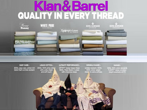 Bedsheet sales have stagnated economic growth, according to some local politicians. Photo: Klan & Barrel Catalogue Collection.