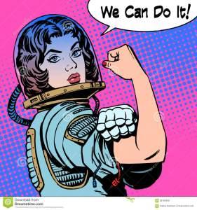 woman-astronaut-can-do-power-protest-retro-style-pop-art-58183498