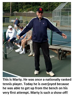 old farts tennis club - Chuck