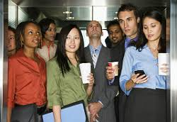 Image result for crowded elevator