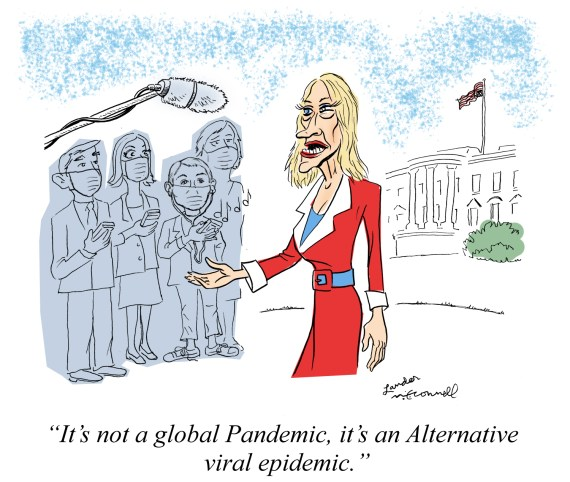 Cartoon: It's Not A Global Pandemic, It's An Alternative