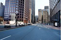 Image result for boston streets pandemic
