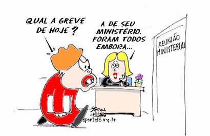Greves no Governo Dilma