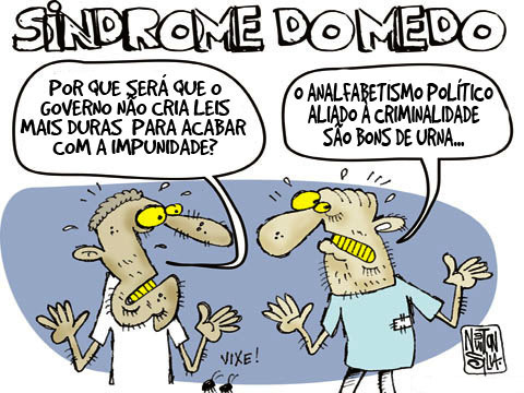 Eleitor com a Sindrome do Medo