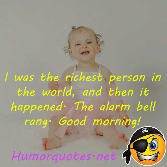 when alarm happened