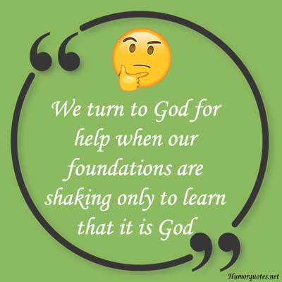 Funny quotes about faith