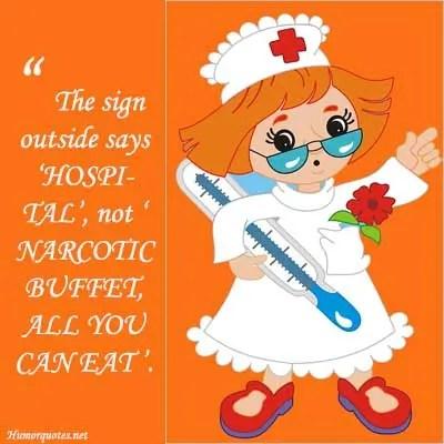 Sarcastic nurse quotes