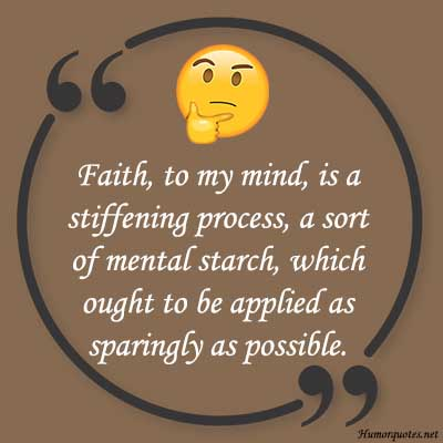 humorious sayings about faith