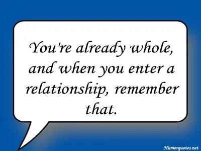 already relationship