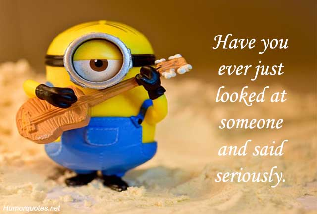 Minion Quotes on love