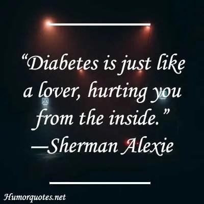 Diabetes is like a love