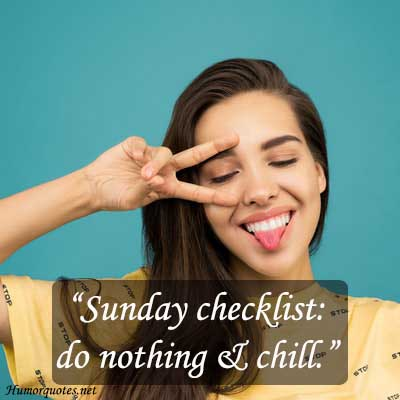 Sunday funny quotes