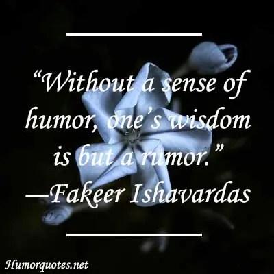 without a sense
