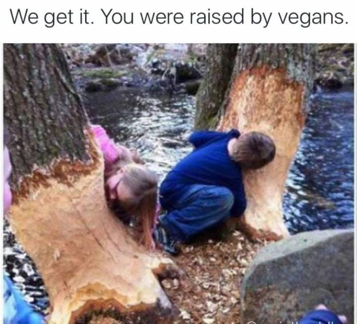 Raised By Vegans