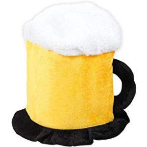 Chapeau + Lunettes en forme de chope de bière touche d'humour soirée déguisée