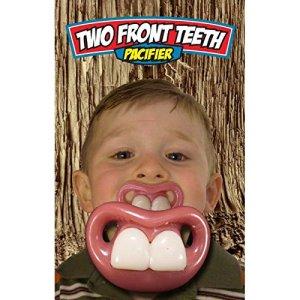 Déguisement Adulte Tétine Dentier, Blanc,