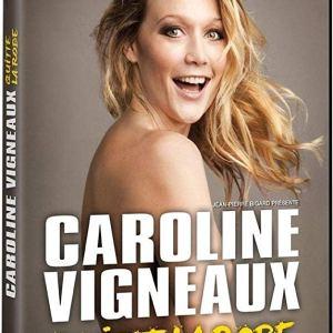 Caroline Vigneaux quitte la robe au Palais des Glaces