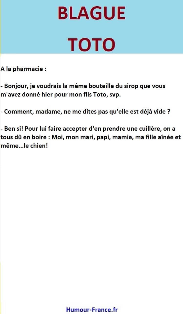 A la pharmacie