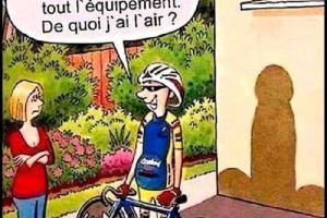 Je me suis acheté un vélo et tout l'équipement