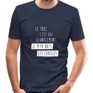 Je M'En Bats Les Couilles T-Shirt