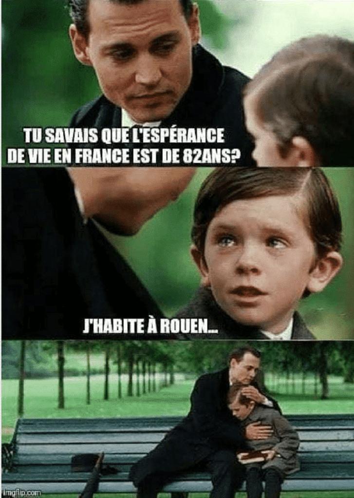 Tu savais que l'espérance de vie en France est de 82 ans