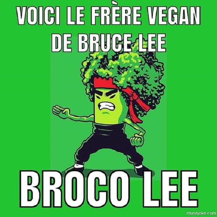 Voici le frère végan de Bruce Lee