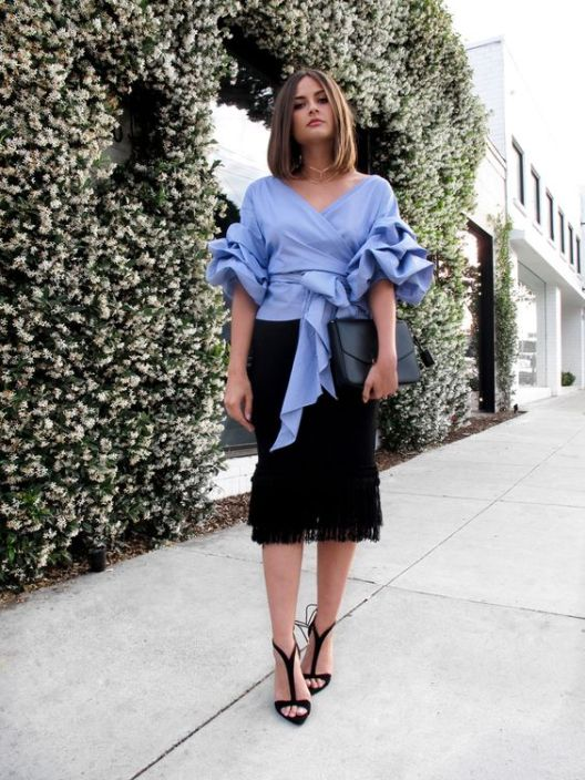Jordyn-ruched-sleeve-blouse