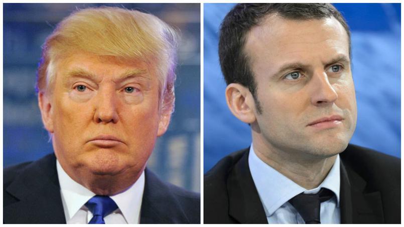 président-trump-macron