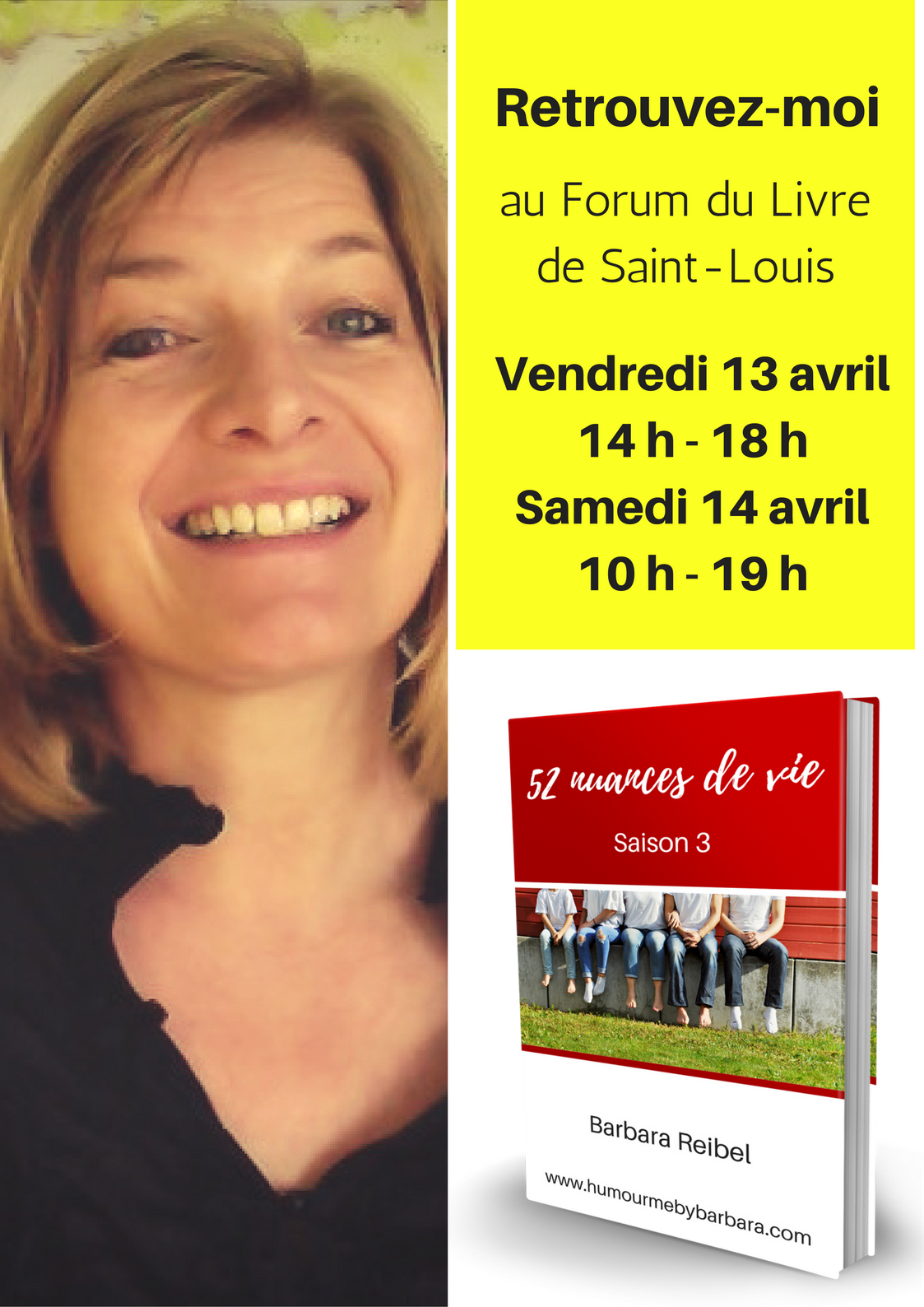 Barbara Reibel Forum du Livre 2018