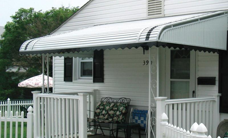 residential metal awnings windows