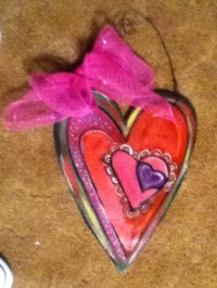 Valentine Porch Decorations For Our Shop. | HUMPTY DUMPTY ...