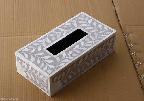 bone inlay tissue box