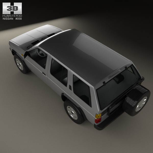 Nissan Terrano (pathfinder) 1993 3d Model  Humster3d
