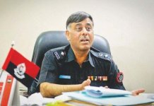 Rao Anwar has been discharged from his post
