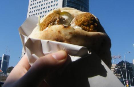 Falafel in a Pita