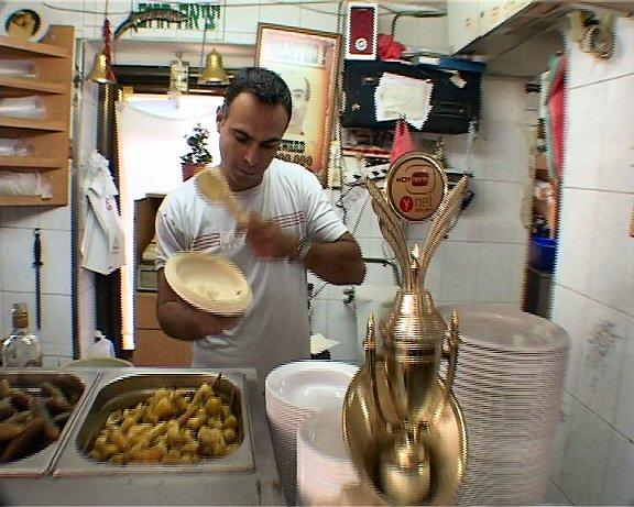 אמיר נג'אר, מסעדת פרג'