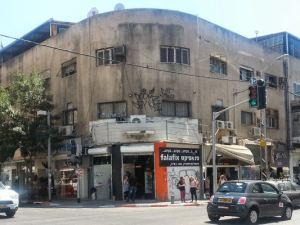 פלאפליקס, בפינת דרך יפו והרצל בתל אביב