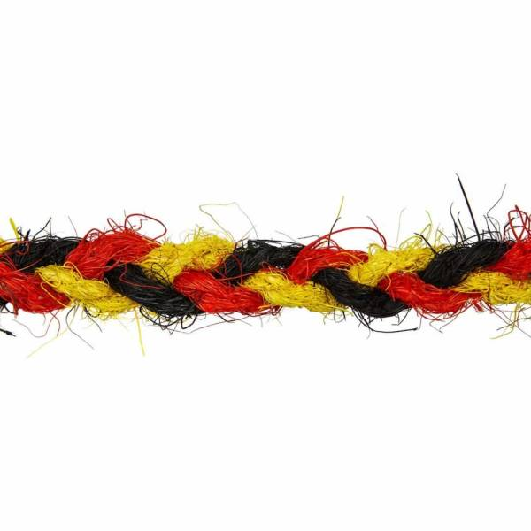 Deutschland fan seil deko seil schwarz rot gold for Deutschland deko