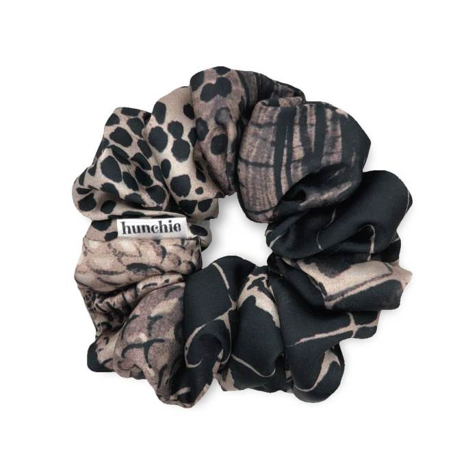 Picture of Animal Print Silk hair scrunchie