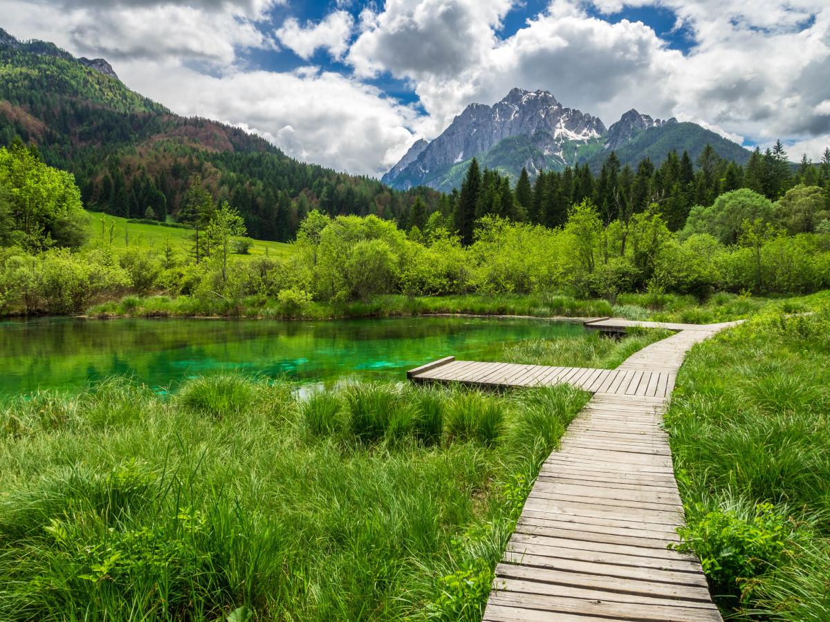 Slowenien - Wasserfälle, Bäche, Flüsse und Seen