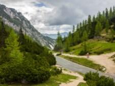 Aussicht vom Vrsich-Pass